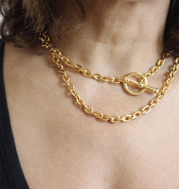 Ben-Amun 20671 Gold Chain Y Necklace