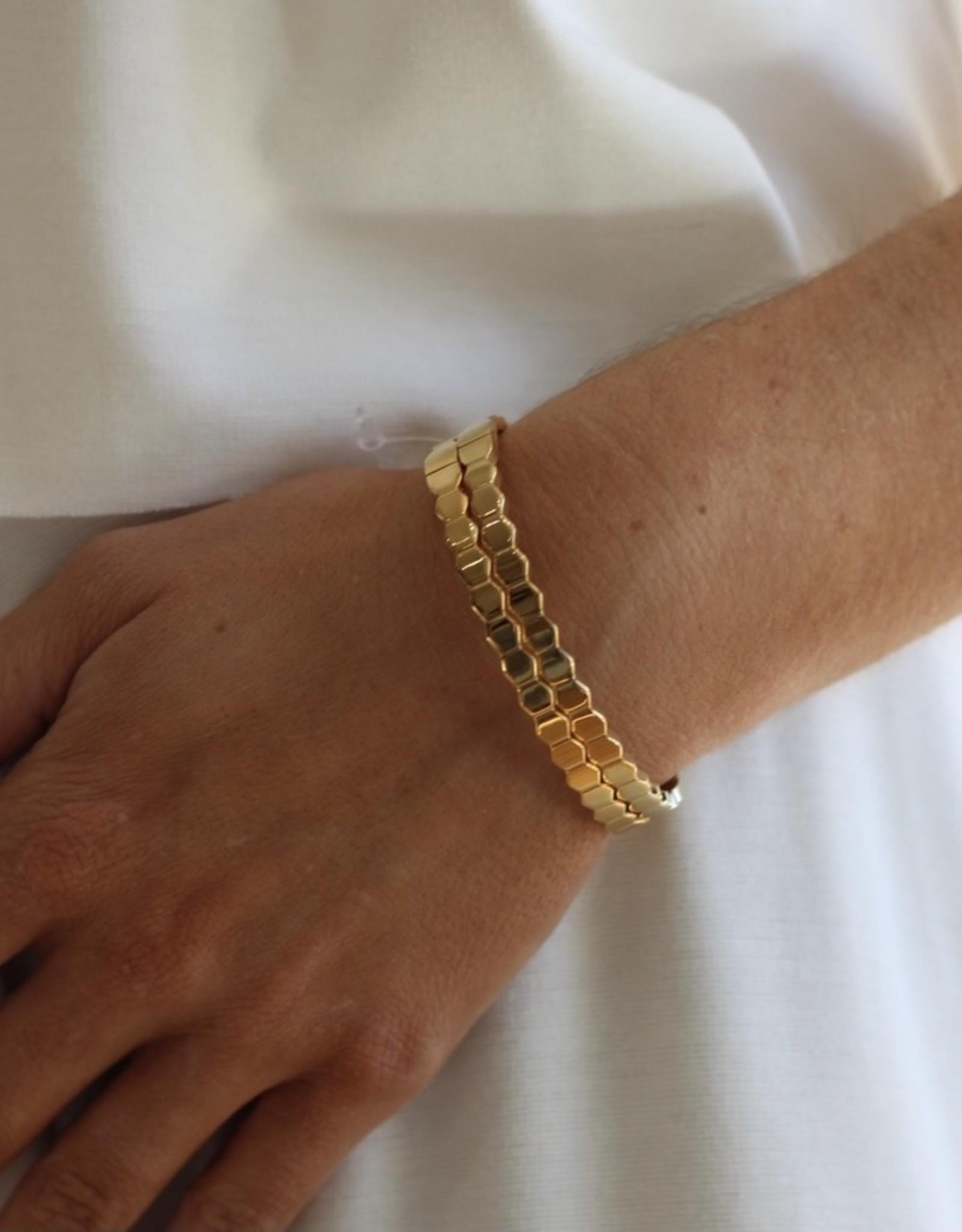 Sahira Honeycomb Bracelet