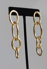 Ben-Amun 91141 Gold LInk Earrings