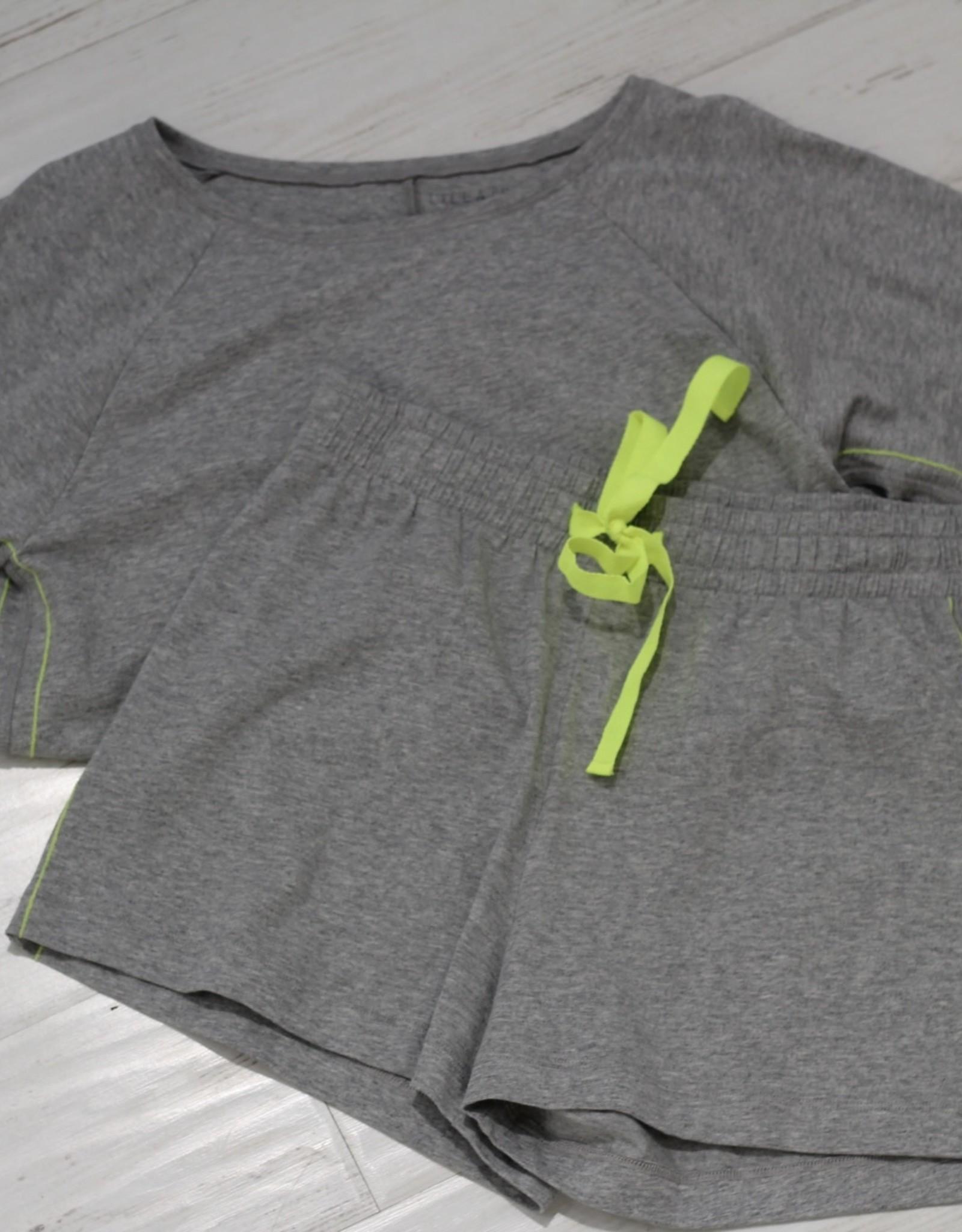 3/4 Sleeve/Short Set