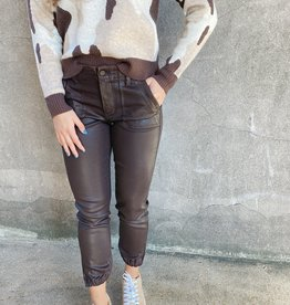 Paige Mayslie Jogger Chicory Coffee Luxe