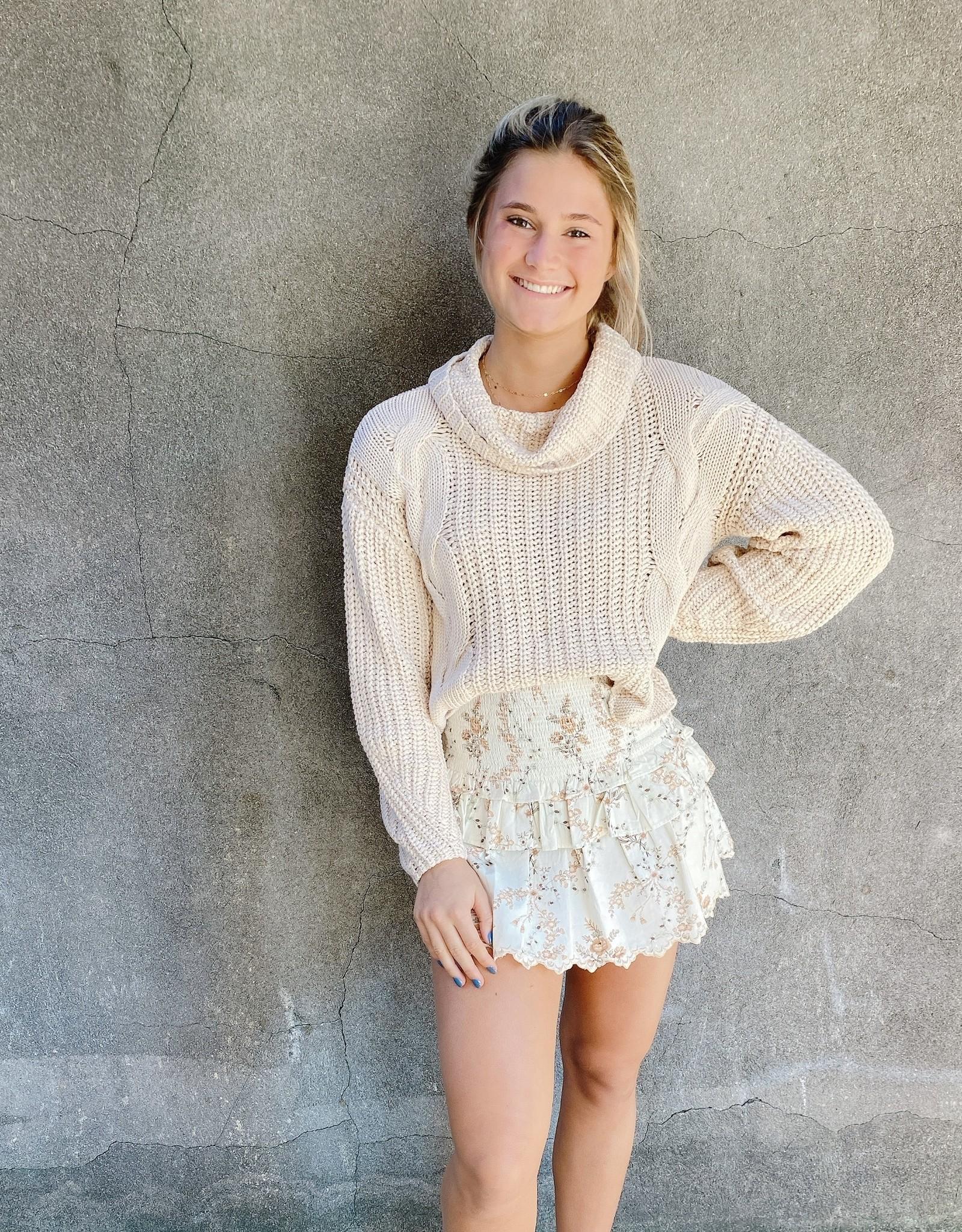 Love Shack Fancy Sowa Skirt