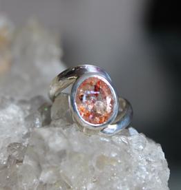 Sunstone Ring ~ Size 6