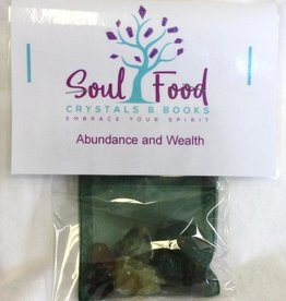 Abundance and Wealth Crystal Kit