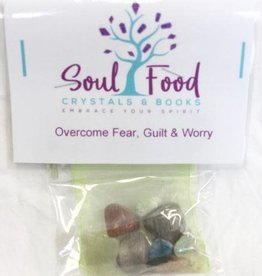 Overcome Fear, Guilt and Worry Crystal Kit