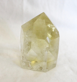 Natural Citrine Point ~ Brazil   Goddess, Window