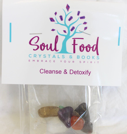 Cleanse and Detoxify Crystal Kit