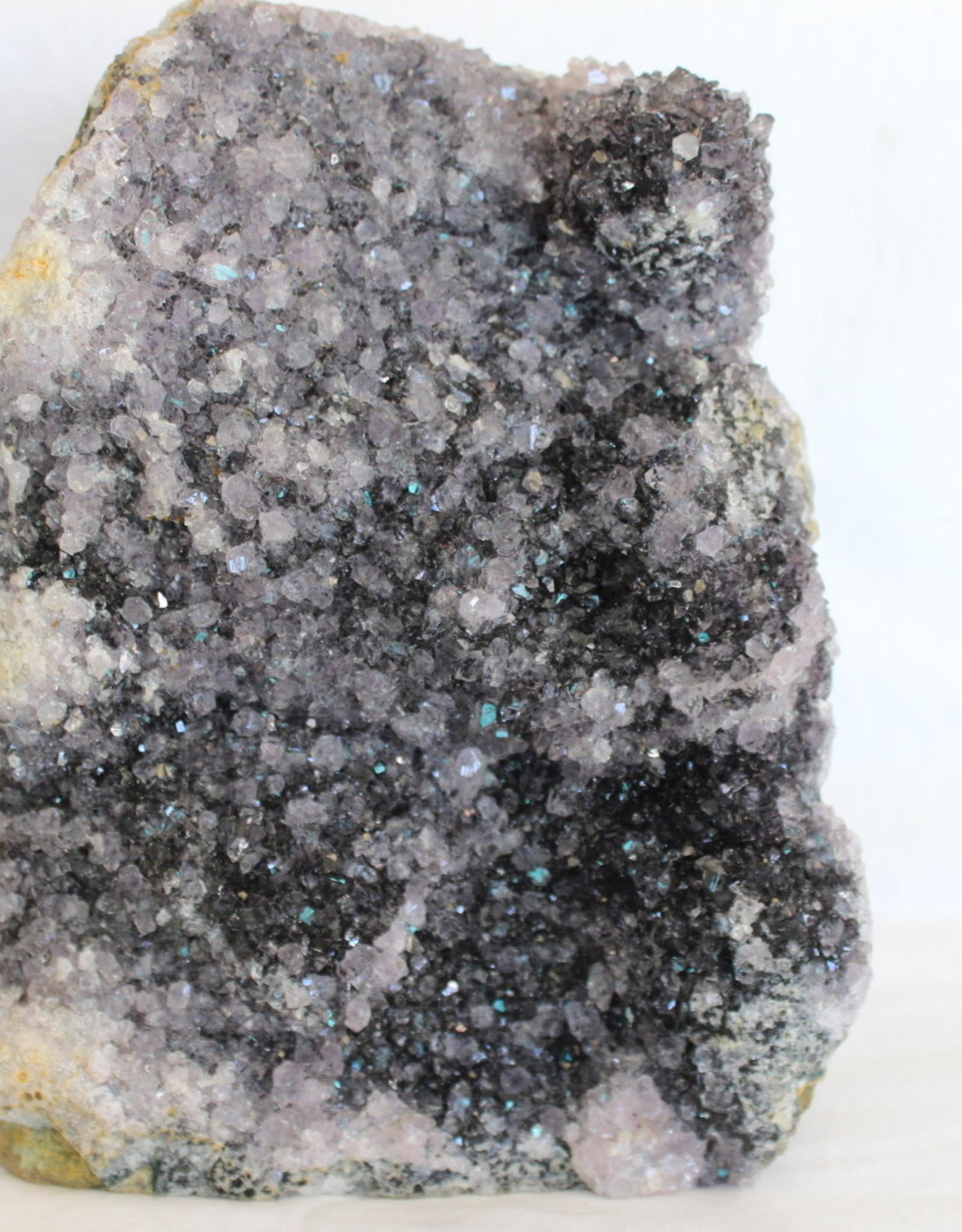 Black Amethyst Cluster