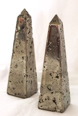 Pyrite Obelisks