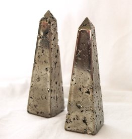Pyrite Obelisk for touching the sun