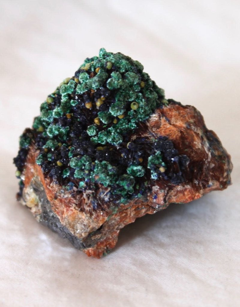 Azurite Rough with Galena