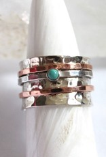 Turquoise Ring ~ Spinner