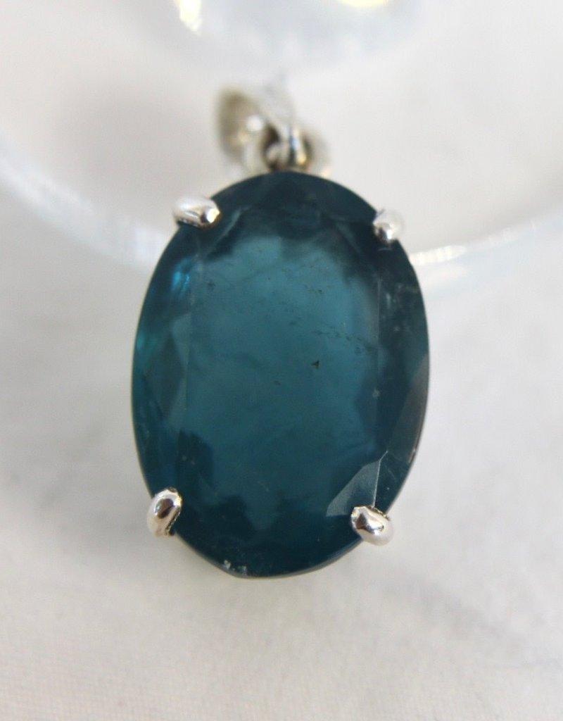 Fluorite Blue Pendant