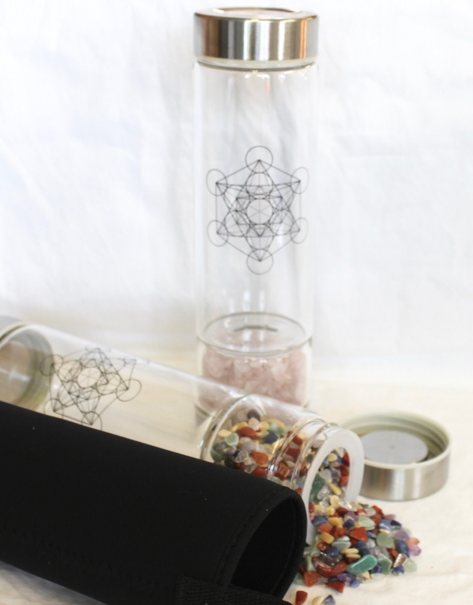 Crystal Water Bottle to nourish and hydrate