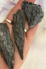 Black Kyanite Blades for protection and cutting cords