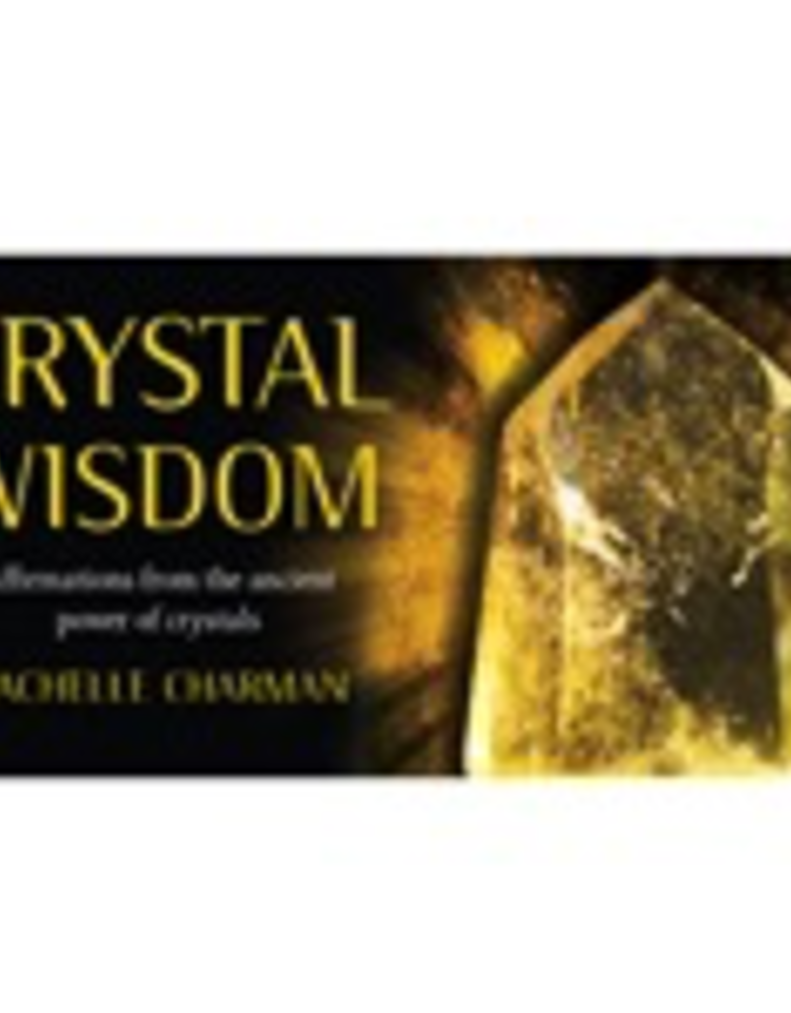 Crystal Wisdom Inspiration Oracle Deck