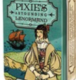 Pixie's Astounding Lenormand Oracle Deck in a tin