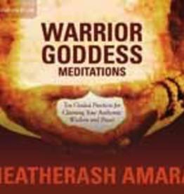 Warrior Goddess Meditations CD