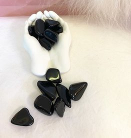 Black Obsidian Tumbled