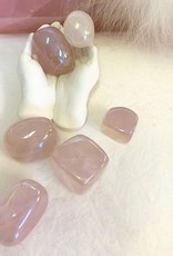 Angel Aura Rose Quartz Polished ~ Brazil