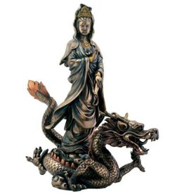 Kuan Yin with Dragon