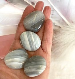 Banded Agate Palmstones