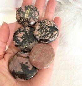 Rhodonite Palmstones