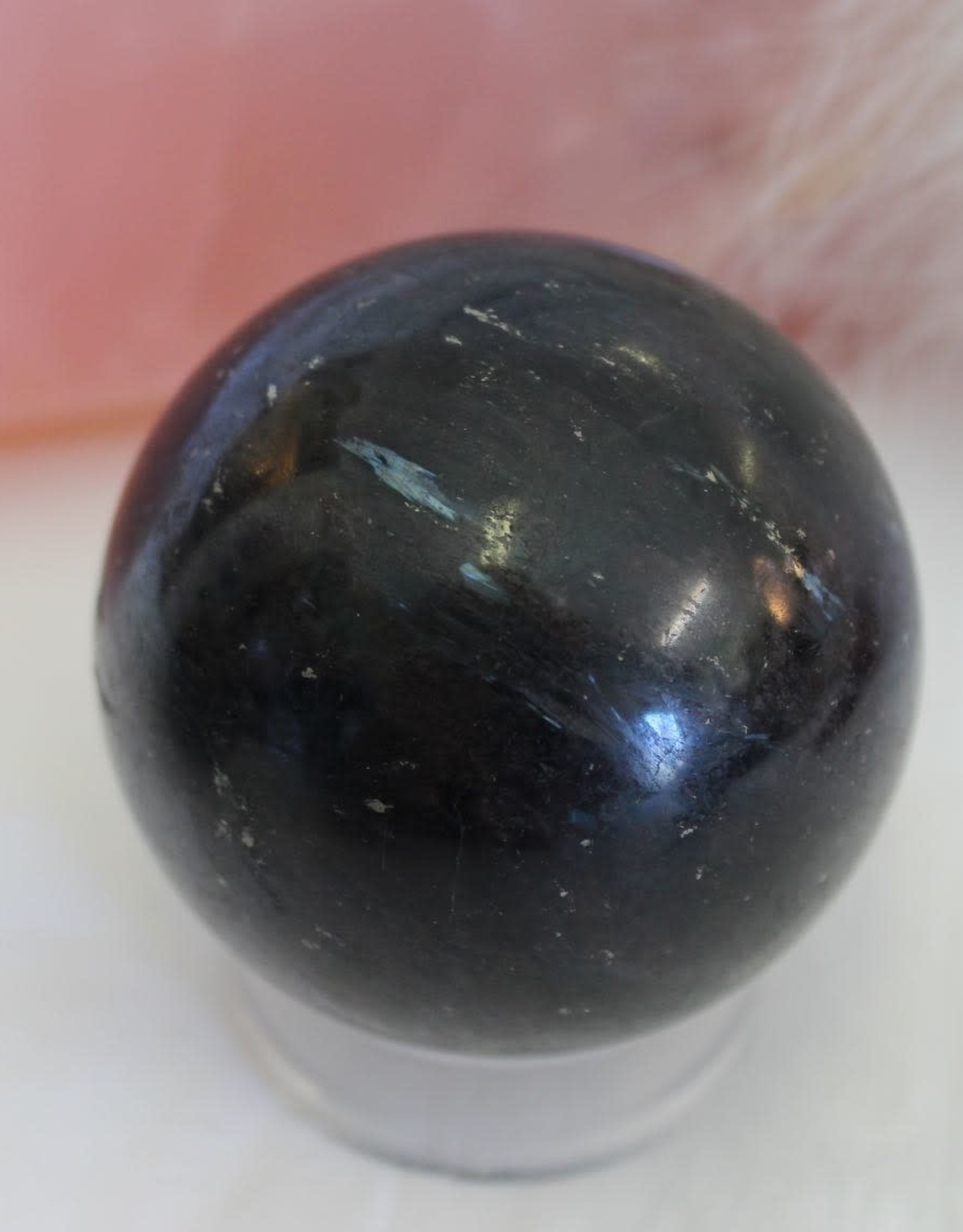 Arfvedsonite Spheres for powerful manifesting