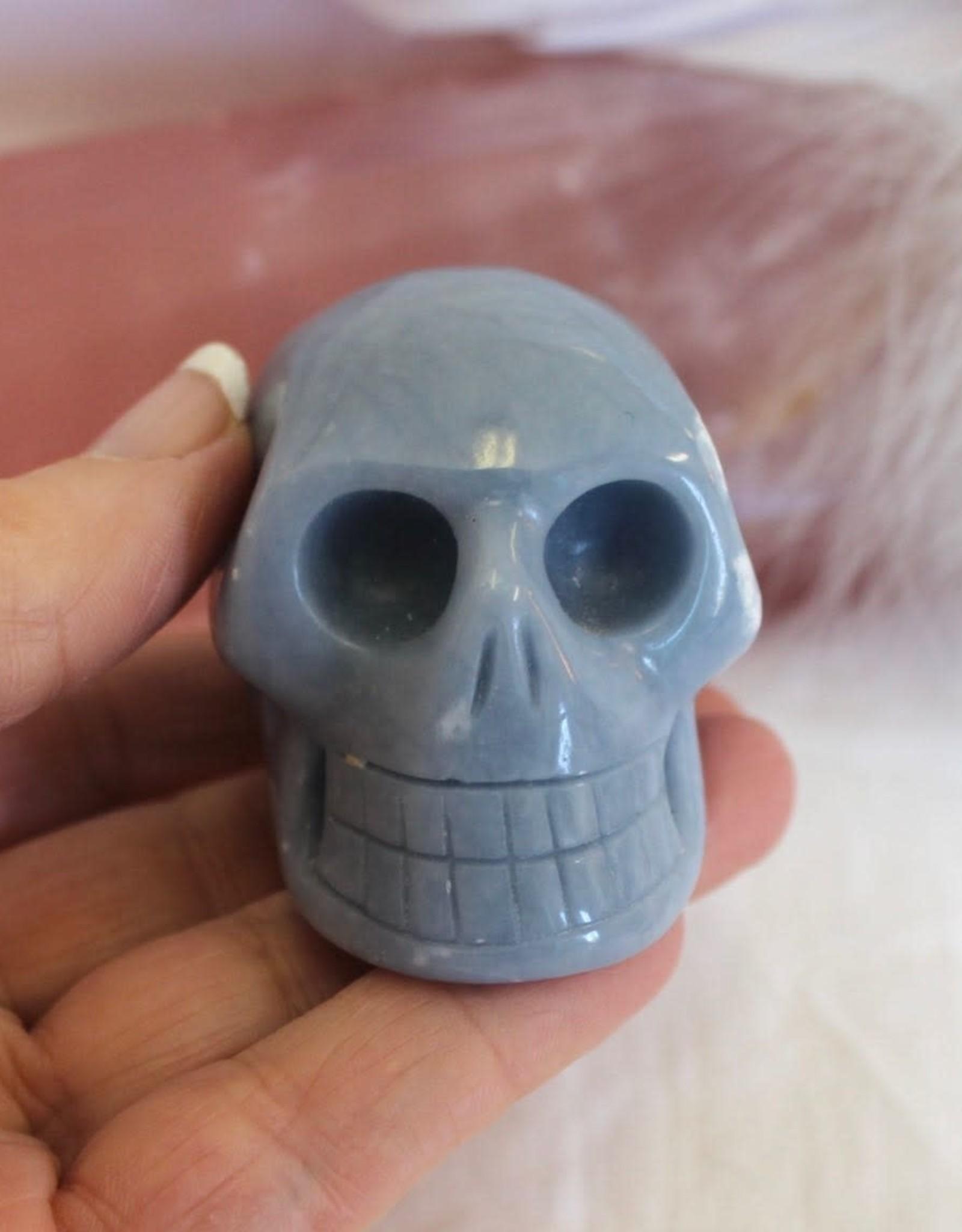Angelite Skull ~ Peru