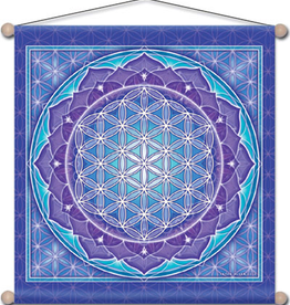 Flower of Life Banner Small