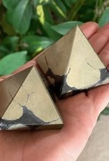 Pyrite (Healer's Gold) Pyramids for powerful manifesting