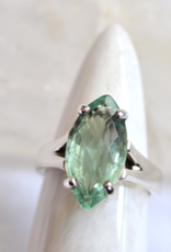 Apatite Ring ~ Faceted ~ Size 5.25