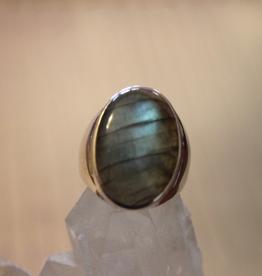 Labradorite Ring ~ Size 8.5