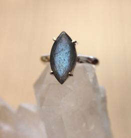 Labradorite Ring ~ Size 7.5