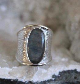 Labradorite Ring ~ Size 9