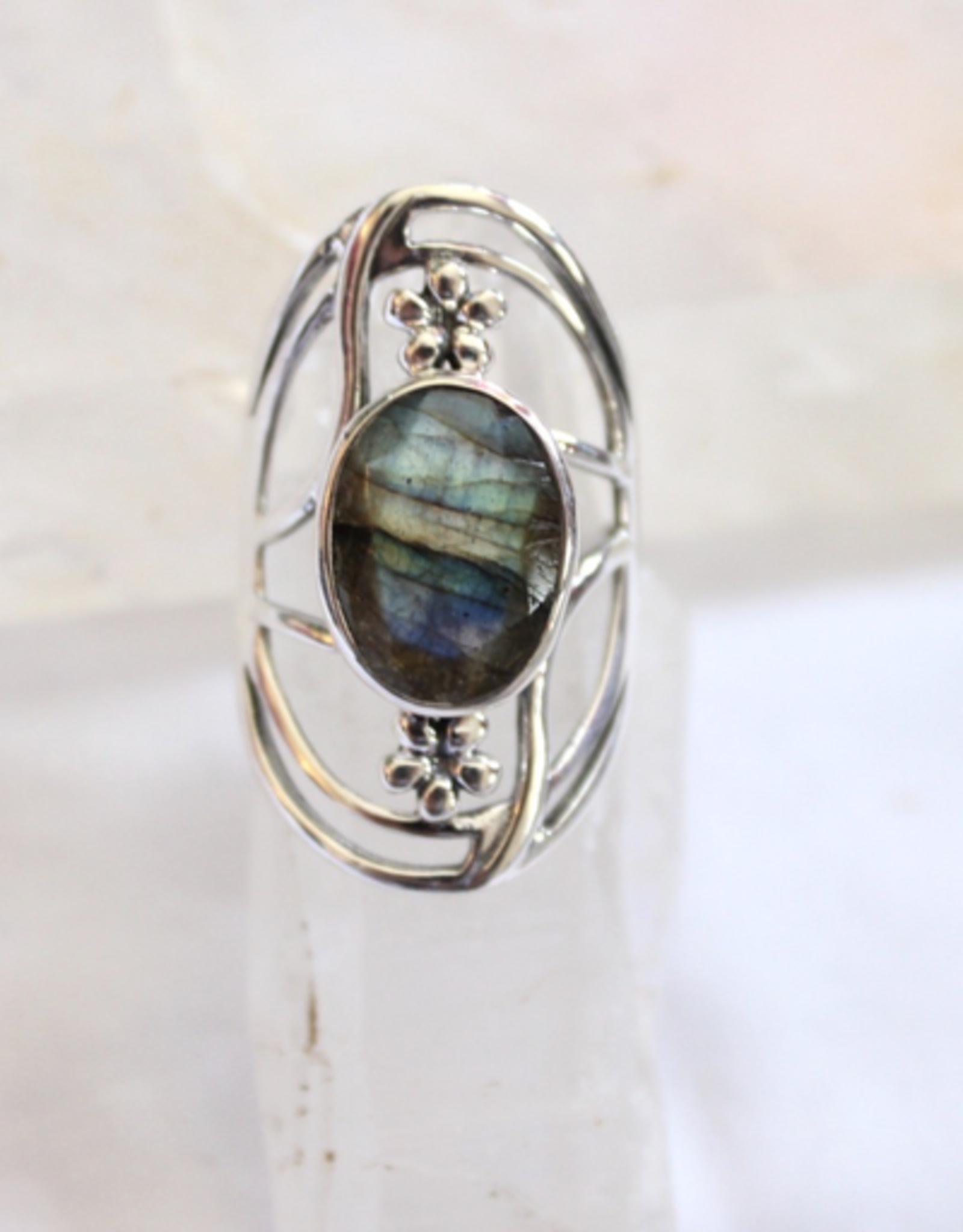 Labradorite Ring ~ Size 6