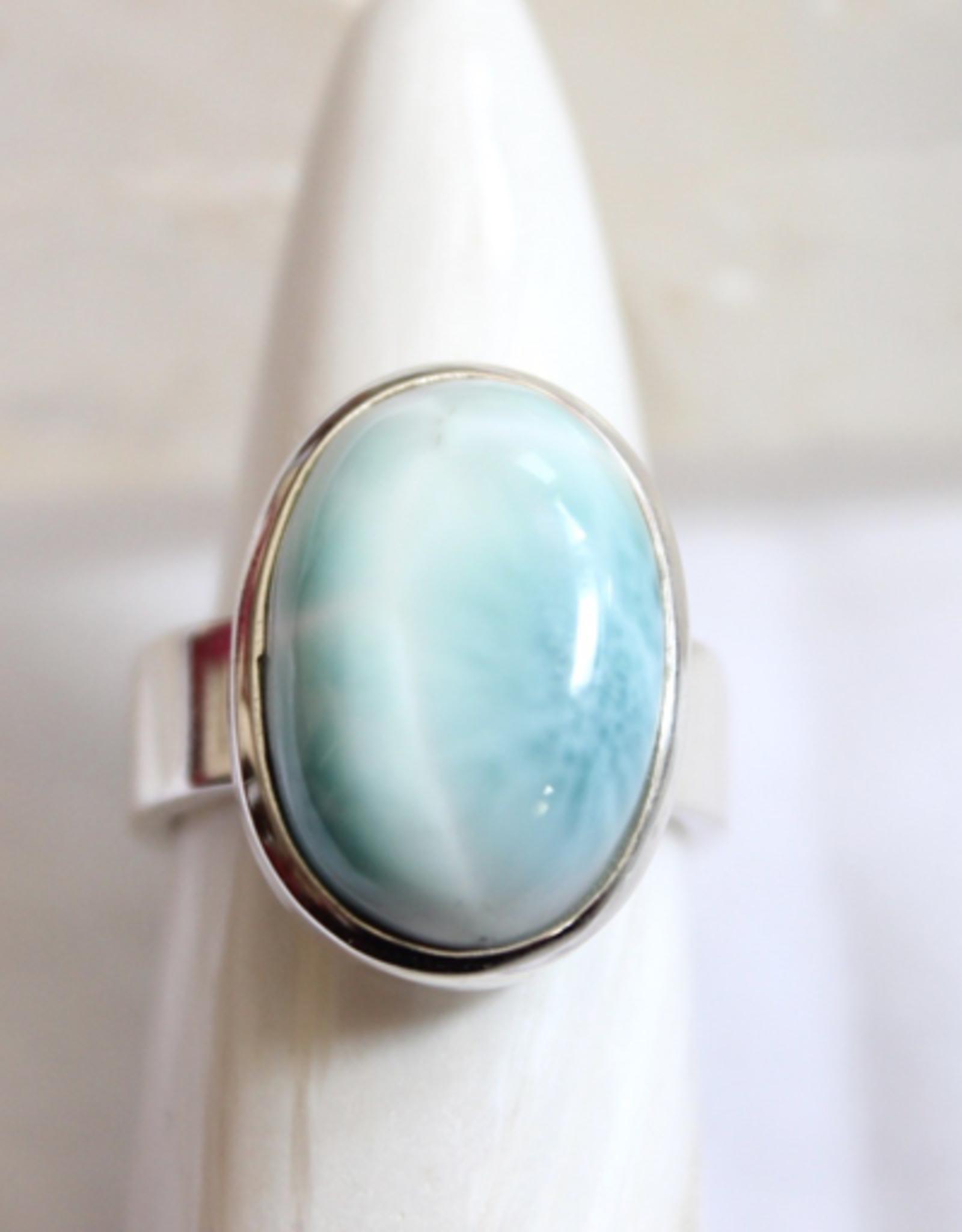 Larimar Ring ~ Size 7.75