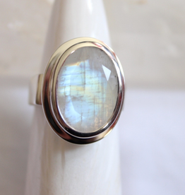 Moonstone Ring ~ Size 8
