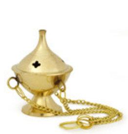 Hanging Brass Incense Burner for your sacred practice