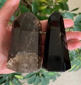 Morion Smoky Quartz Generators for ultimate protection and purification