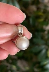 Pearl Pendant charged in the Full Moon Eclipse in Cancer
