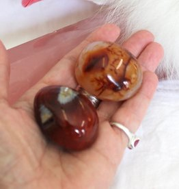 Carnelian Polished - Madagascar for creativity, courage, passion, love