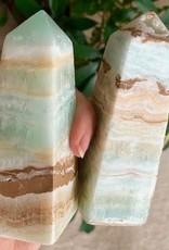 Caribbean Calcite Obelisks for beautiful flowing energy