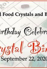 Birthday Crystal Bingo