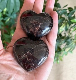 Garnet Hearts for attracting love