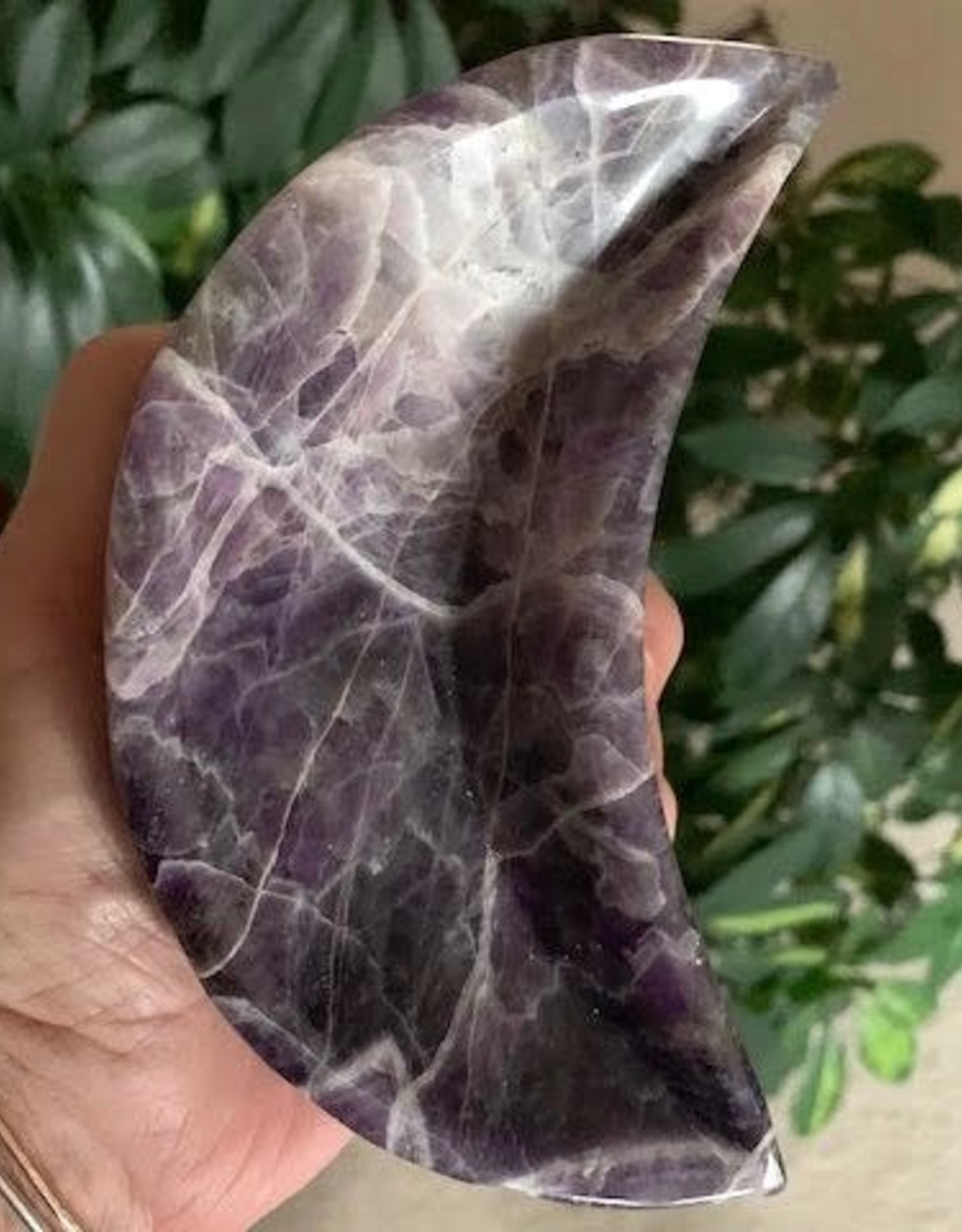 Amethyst Moon Dish charged in the September New Moon