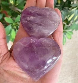 Amethyst Hearts for Deep Peace