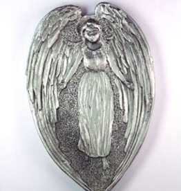 Angel Treasure Dish ~ Pewter