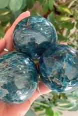 Apatite Spheres for Spiritual Guidance