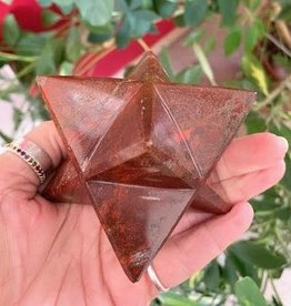 Red Jasper Merkaba for motivation